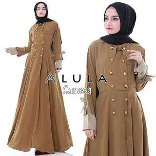 WDD - 0218 - Dress Busana Muslim Wanita Alula Canesa
