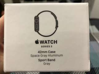 Apple I Watch Series 3 42mm (annual dinner prize)