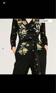 Authentic Zara Basic Kimono Top Size S