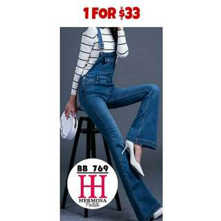 #6170 OVERALL BOOTCUT