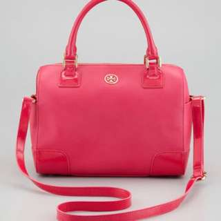 Tory Burch Robinson Middy Satchel Bag