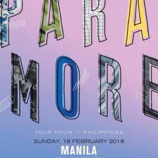 FOR SALE!! PARAMORE LB STANDING