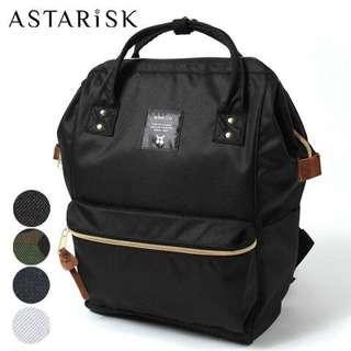 [INSTOCK] Anello Black Bagpack