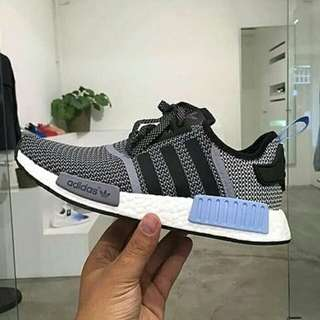 Adidas NMD R2 meash color blu premium(orginal 100%)
