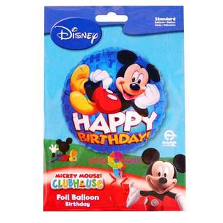 BNIB Disney Mickey Birthday Foil Balloon