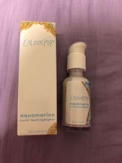 Colourpop Aquamarine Crystal Liquid Highlighter