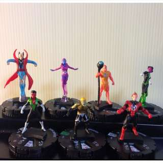 Marvel Heroclix Guardians of the Galaxy and War of Light