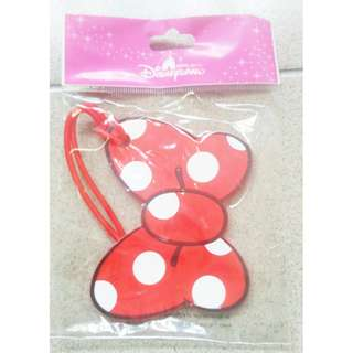 Minnie school bag tag / Luggage tag