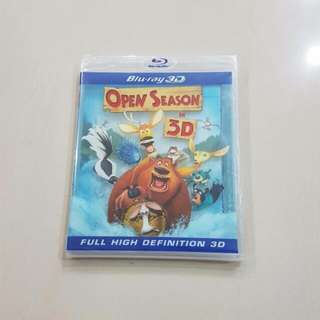 Open Season, Blu-ray 3D