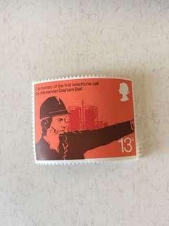 英國郵票全新一套四款