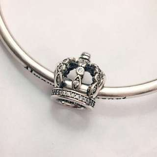Authentic Pandora Charms - Fairytale Crown (As New)