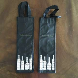[BN] Bottles & Bottles Wine Carrier / The Straits Wine Company Wine Bag