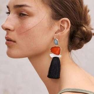 NEW ANTING Earrings Tassel Pesta
