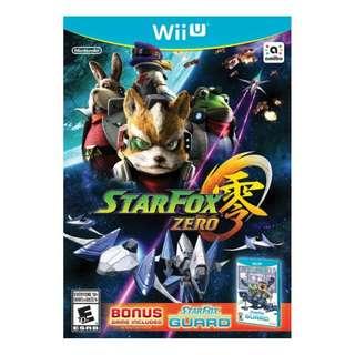 Wii U Star Fox Zero