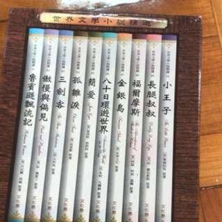 世界文學小說精選一套10本