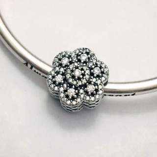 RRP$89! Authentic new Pandora charms - crystallised snowflake