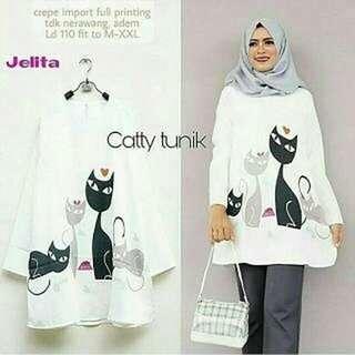 WDD - 0218 - Atasan Wanita Catty Tunik