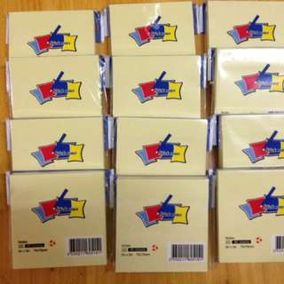 note pad 12 pcs per pack