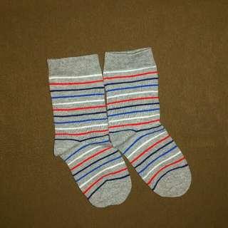 Kaos kaki striped /stripes / stripe