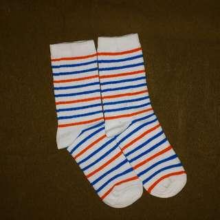 Kaos kaki striped /stripes /stripes