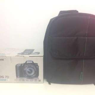 Box for canon 7D + INDEPMAN Dslr BAG