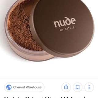 nude mineral bronzer