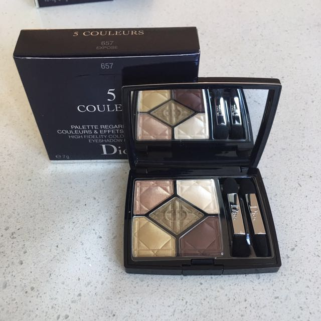 5colour eye-shadow palette 657expose