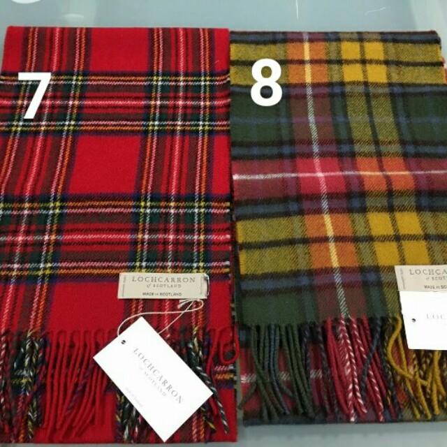英國代購 蘇格蘭純羊毛圍巾