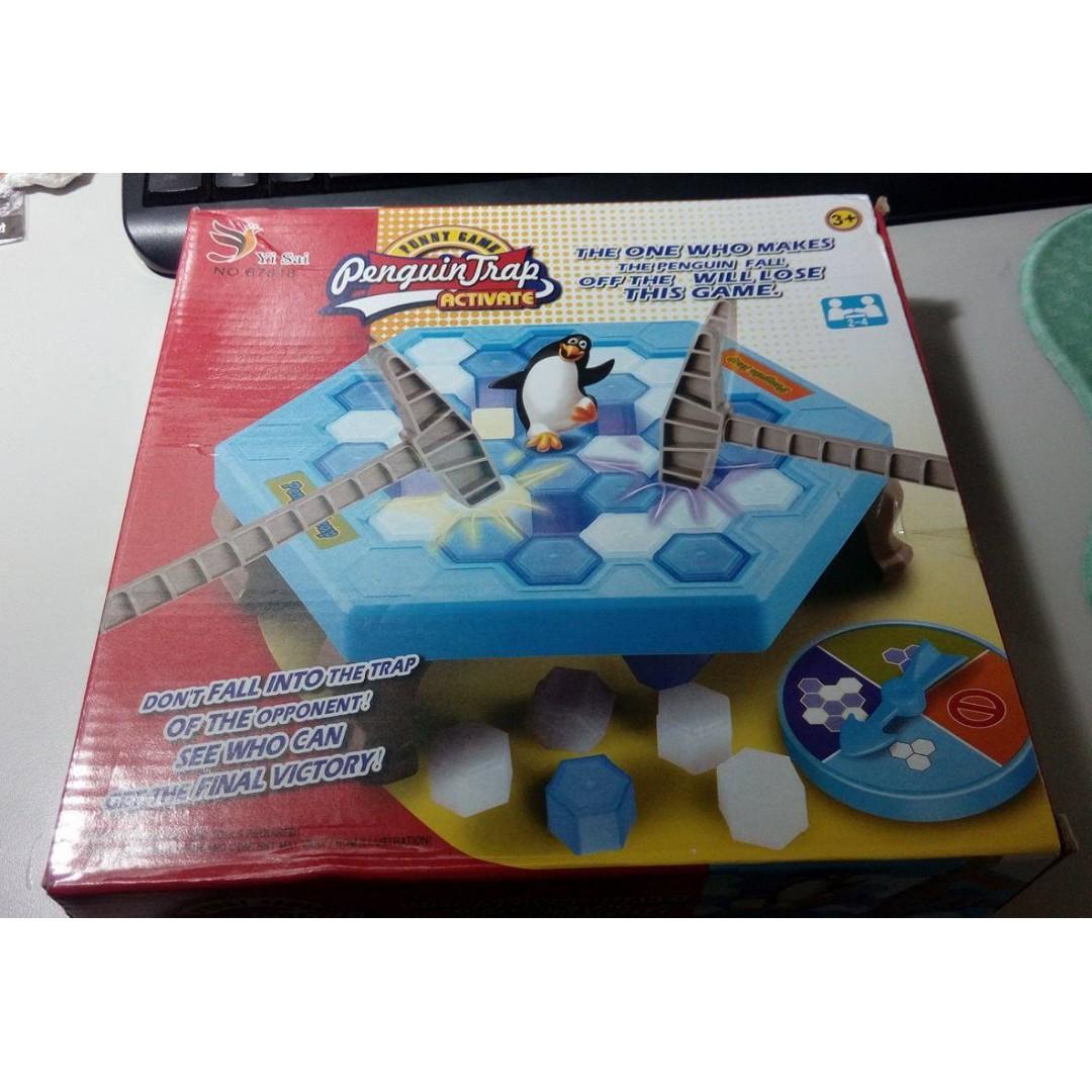 企鵝敲冰塊 桌遊