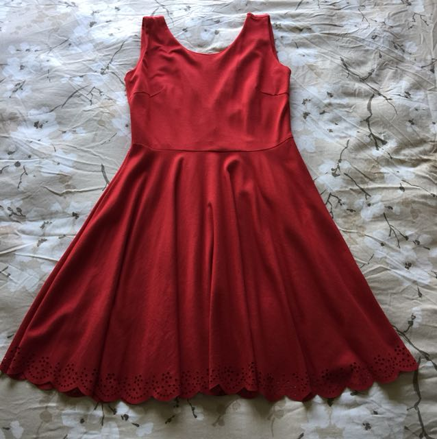 📮Addicted Fiery Red Dress
