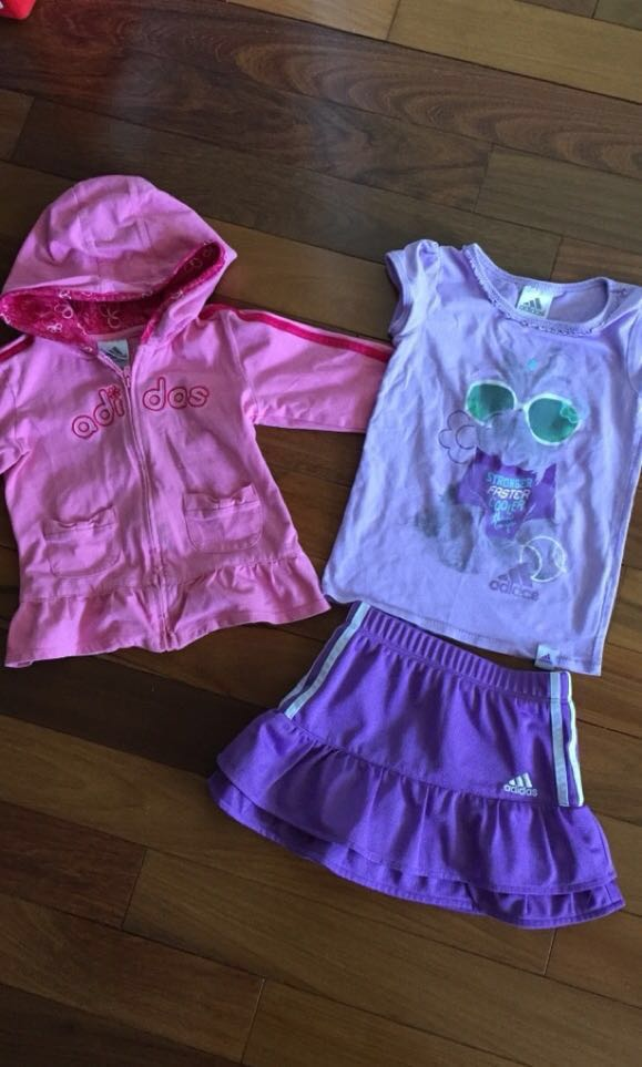 Adidas collection of Girls Outfit Size 4
