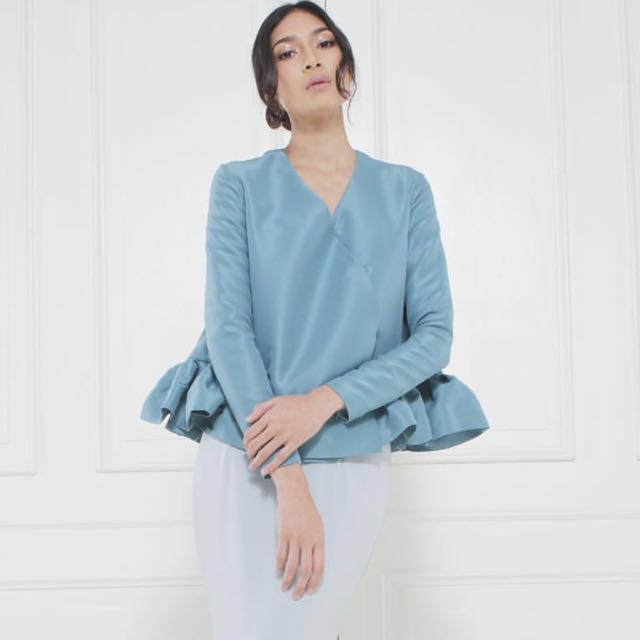 Arared Monica top in Teal