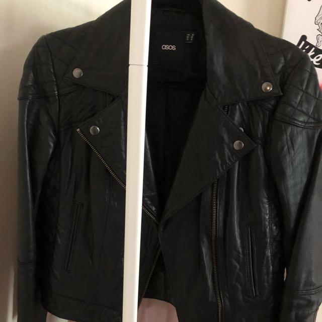 ASOS 100% Leather jacket