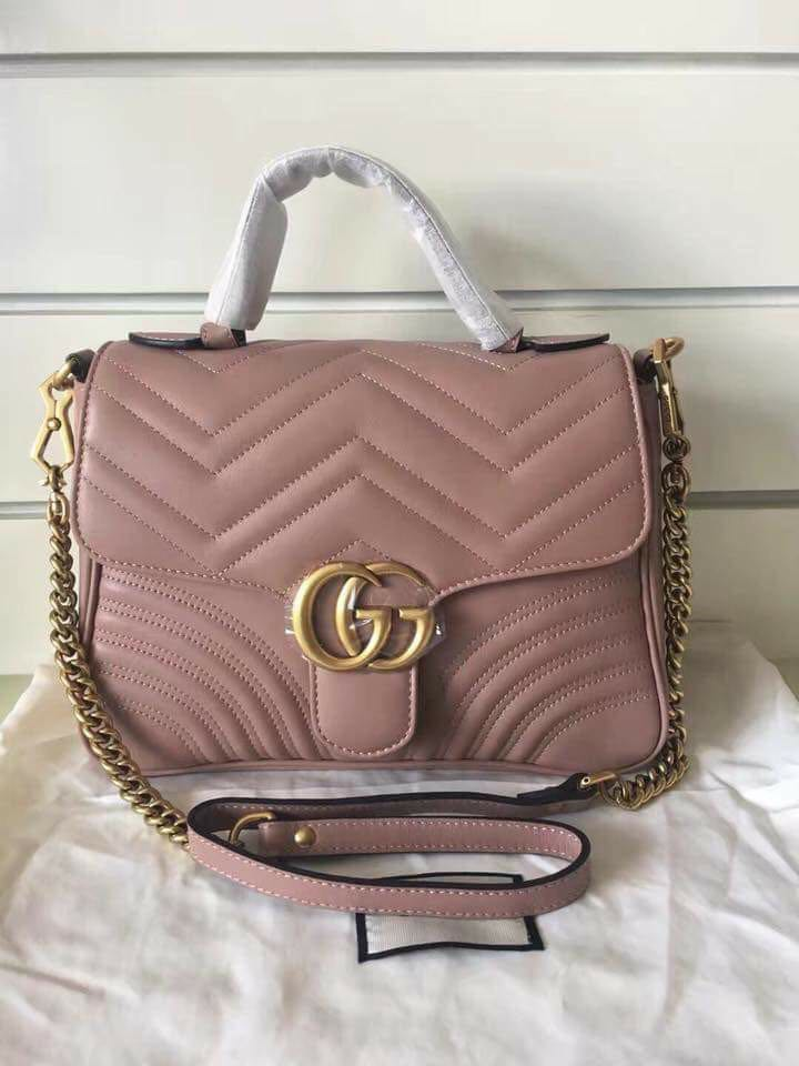 AUTENTIC Gucci Marmont top handle on Carousell