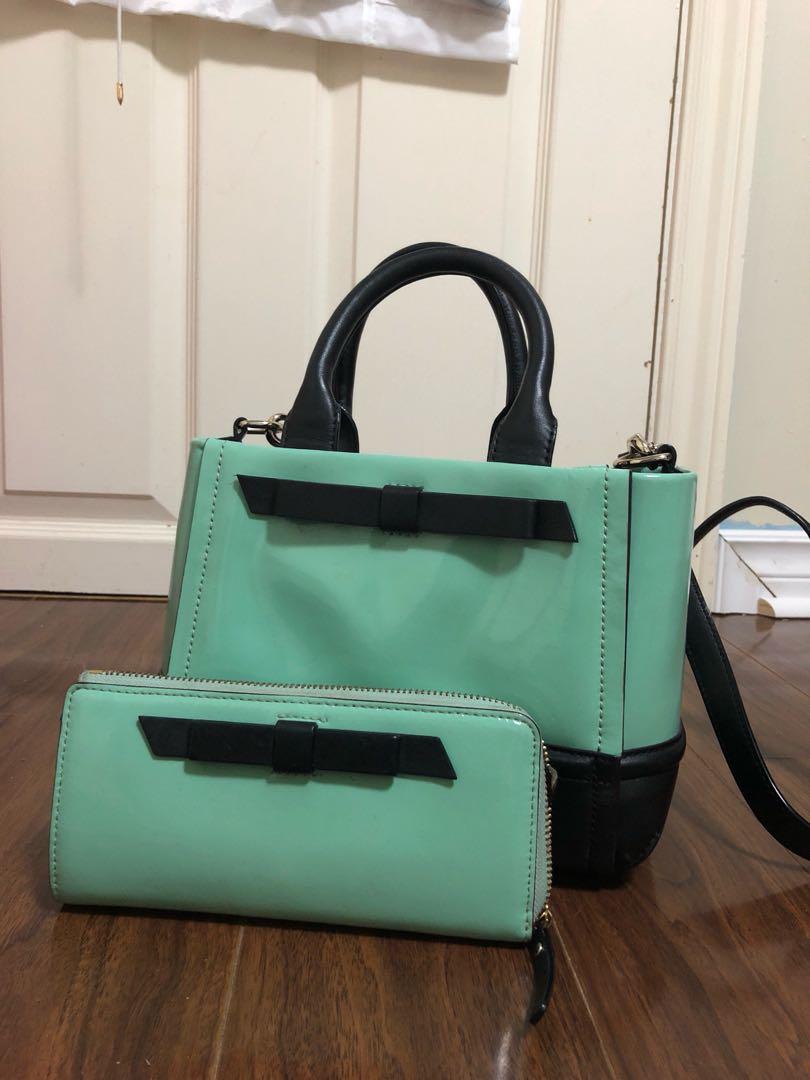 Authentic Kate Spade Bag + Wallet