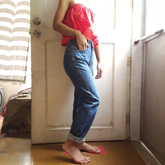 🌈REPRICED🌈 Authentic Levi Strauss Mom Jeans Highwaist