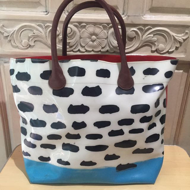 Authentic Tsumori Chisato Cloud Cat tote