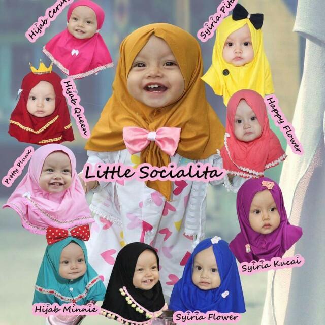 Baby Hijab Unik - Model Unik