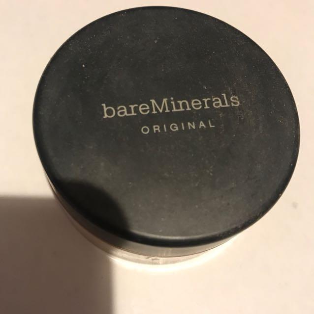 Bare Minerals foundation- W30 Golden Tan