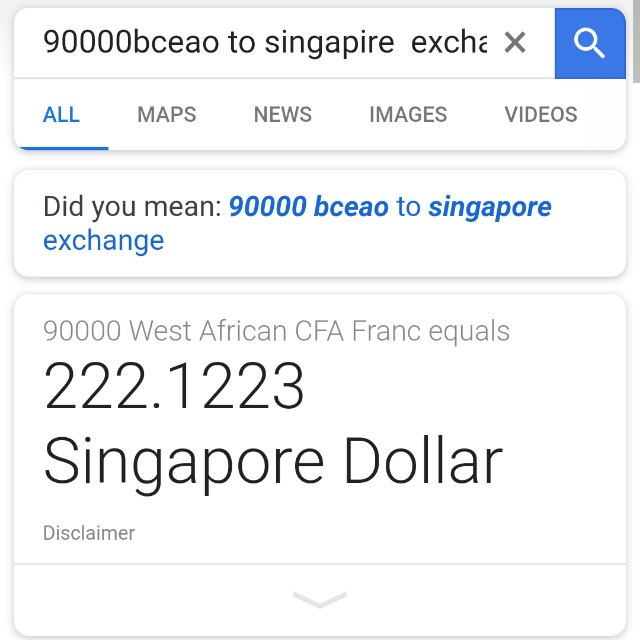 BCEAO   west   african  money  90,000  selling cheap