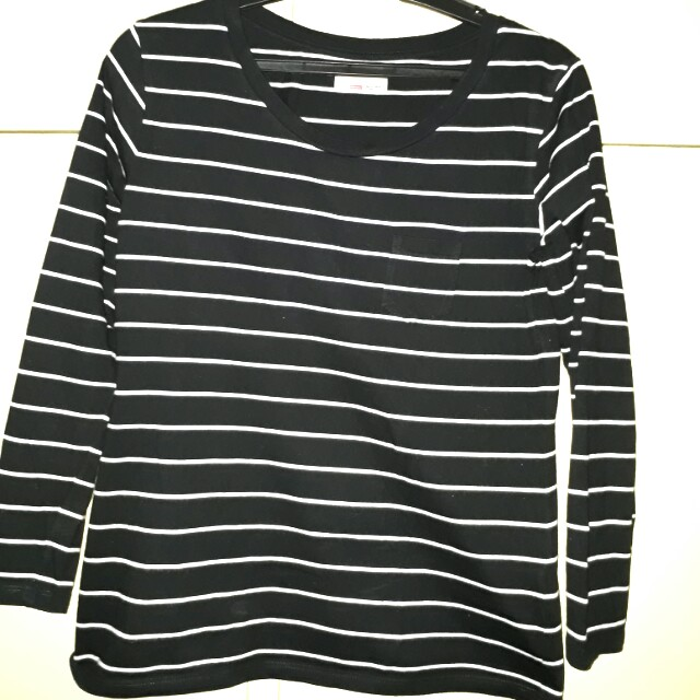 BENCH black-white stripes
