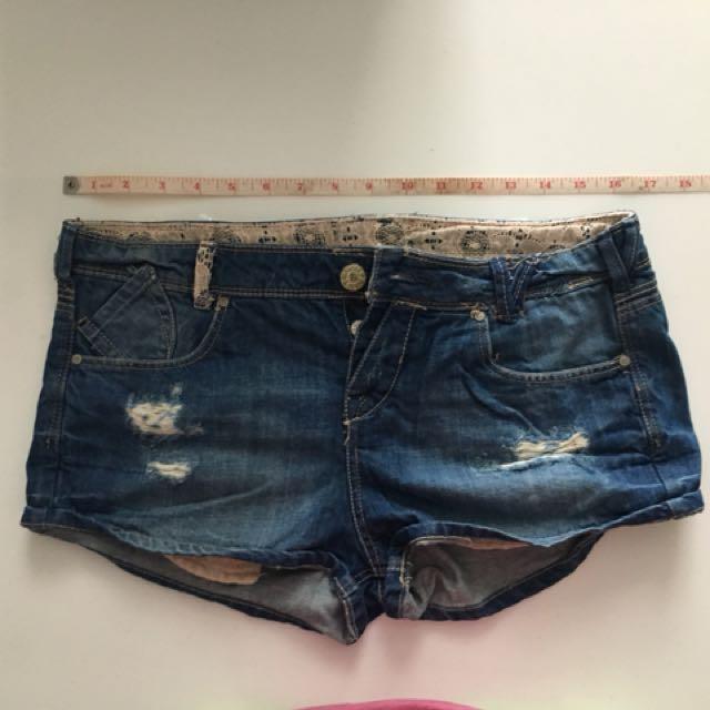 Bershka Denim shorts
