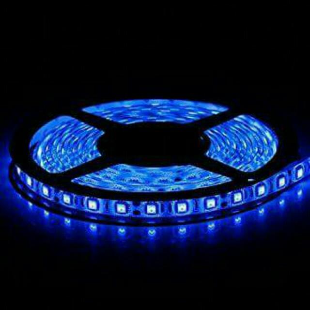 BLUE L.E.D lights (per 5 meter roll)