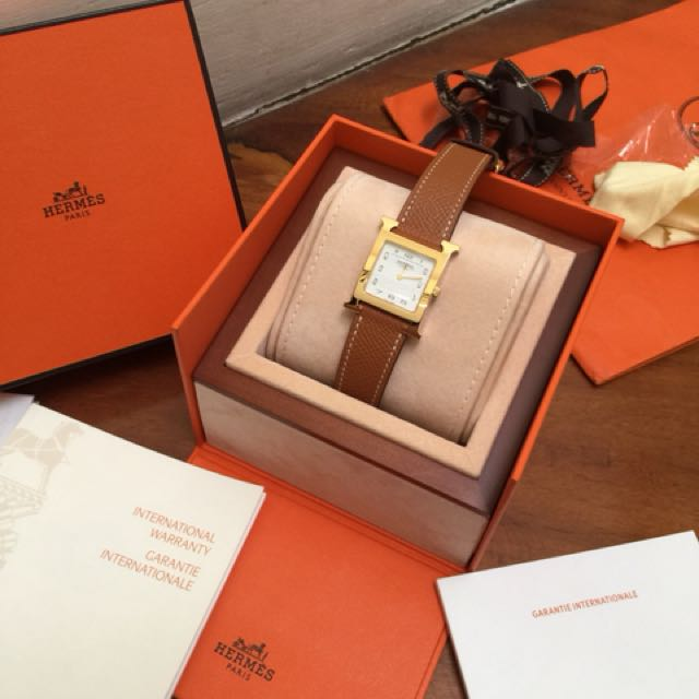 BNIB Hermes Heure H Hour Size MM Watch