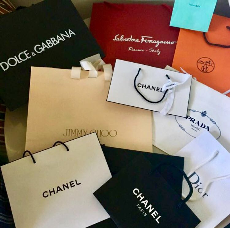 Branded authentic paper bags