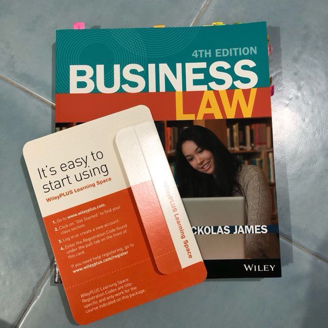 Business law by nickolas james 4th edition books stationery photo photo photo fandeluxe Choice Image
