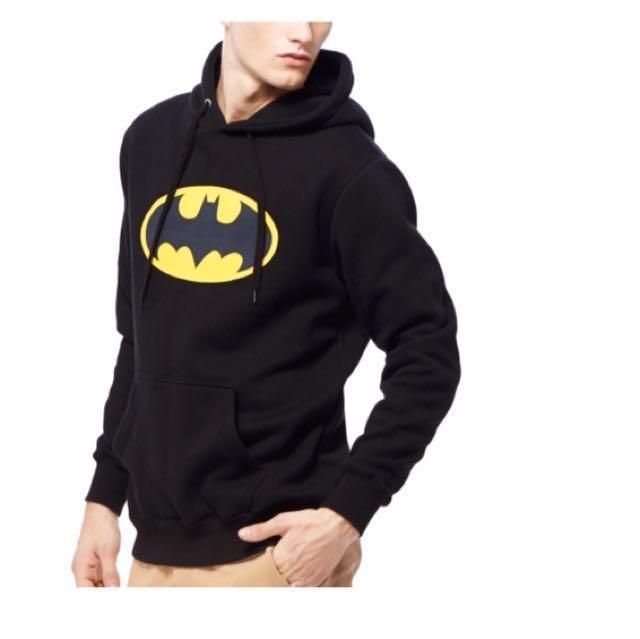 Caco 蝙蝠俠 鋪棉帽T