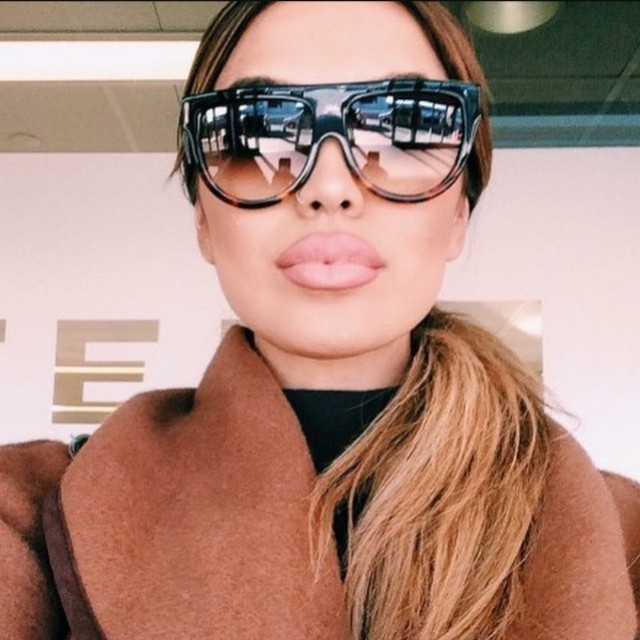 0dbf79aeea4 Celine Shadow Sunglasses in Black Havana Brown - AUTHENTIC