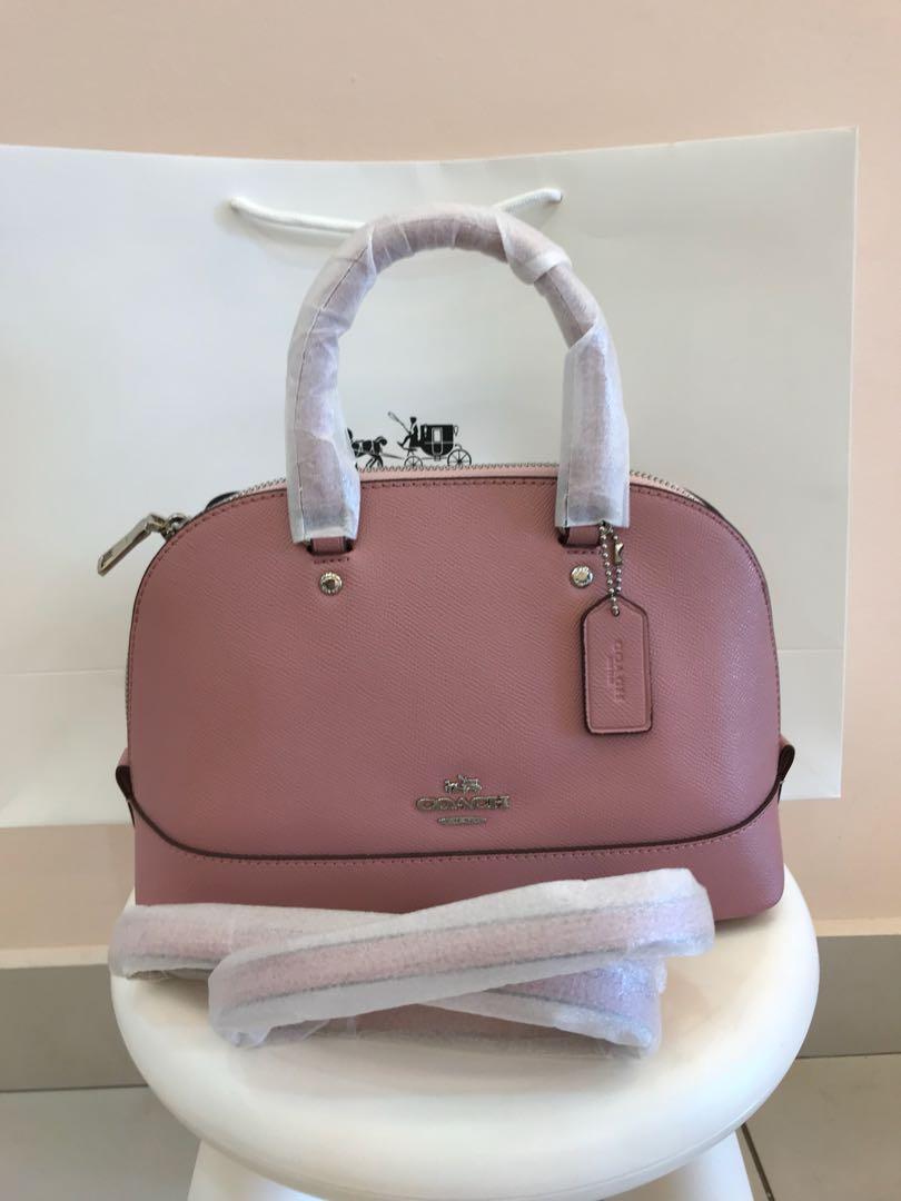 7ba5563b412 ... good coach mini sierra original coach women handbag sling bag crossbody bag  womens fashion bags wallets