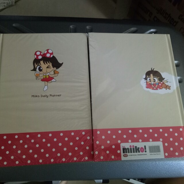 Daily Planner Buku Agenda Komik Miiko Cute Original Merchandise Limited, Buku & Alat Tulis,